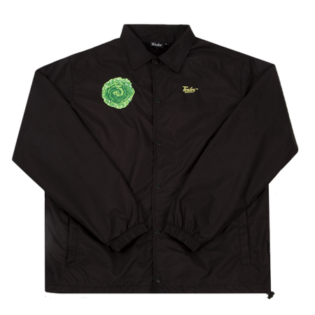 Coach Jacket Rick & Morty Black