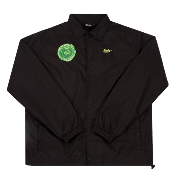 Coach Jacket Rick & Morty Black - Tealer