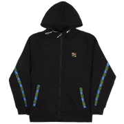 Zip Hoodie Summer City Black