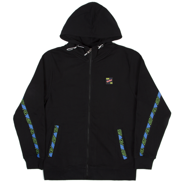 Zip Hoodie Summer City Black - Tealer