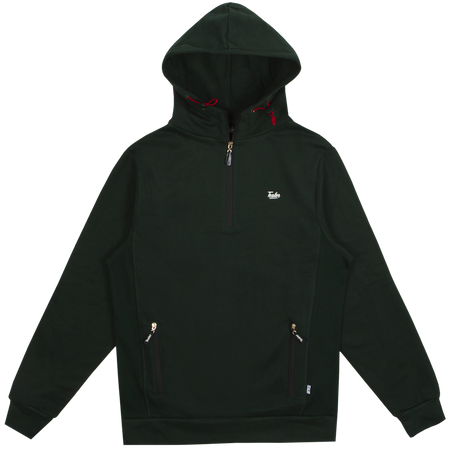 Hoodie Green Lace Type
