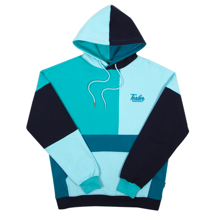 Hoodie Perfect Cutout Blue