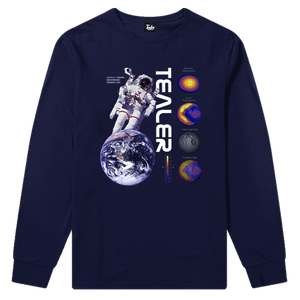 3a74c2af06b1 Tee High in Space Red Long Tee Mission 420 Navy ...