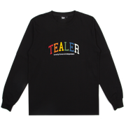 Long Tee University Black - Tealer