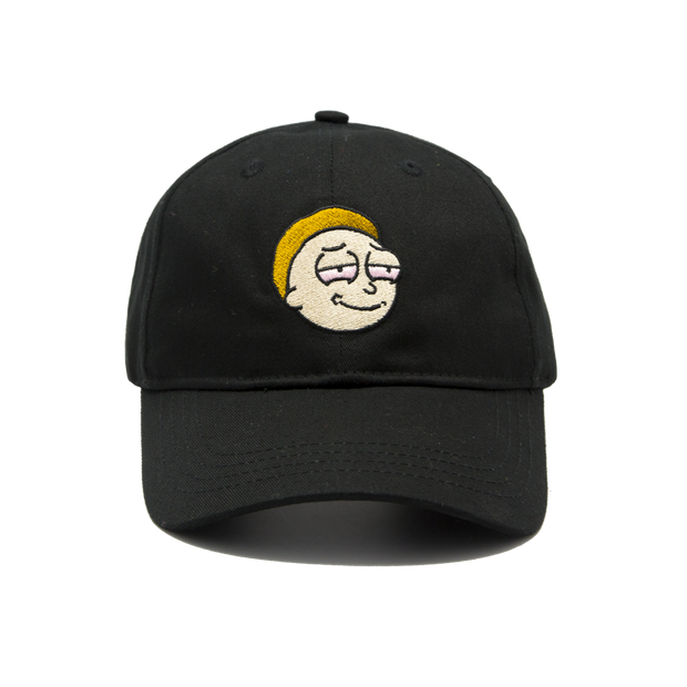 Stoned Morty Cap Black