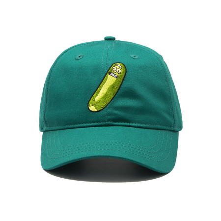 Pickle Rick Cap Green