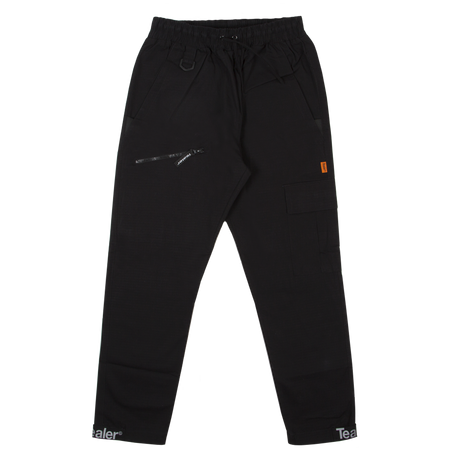 Cargo Pant Ripstop Cotton Black