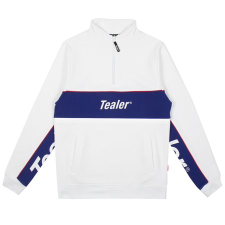 Crewneck Halfzip Athletics White