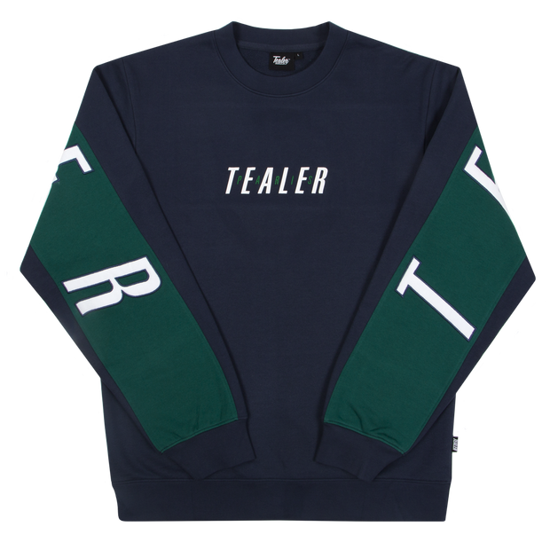 Crewneck Big Logo Navy - Tealer