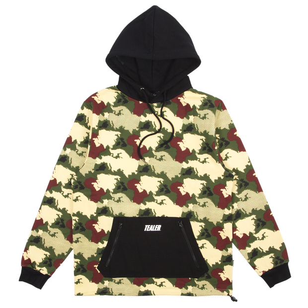 Hoodie World Military - Tealer