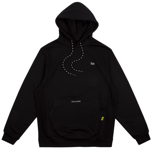 High Fit Hoodie Black