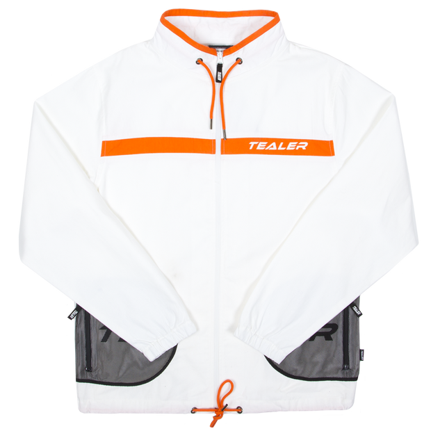 Track Jacket Closer White