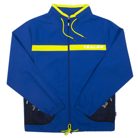 Track Jacket Closer Blue