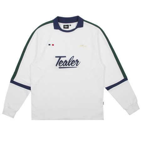 Long Sleeve Soccer White