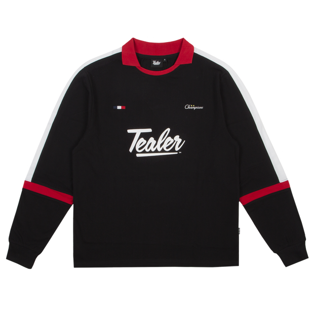 Long Sleeve Soccer Black