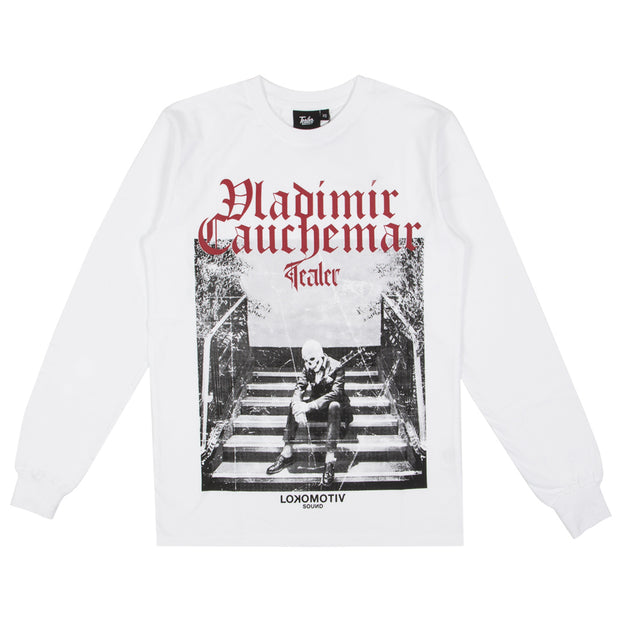 VLADIMIR CAUCHEMAR Long Sleeve White