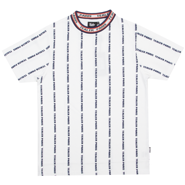 Tee Stripe Neck White
