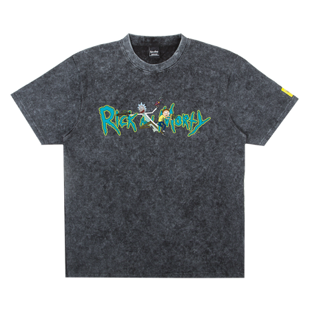 Tee Rick & Morty Stonewash