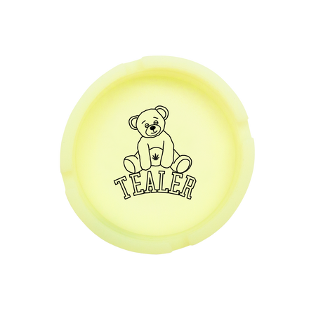 Bear Ashtray Glow Yellow