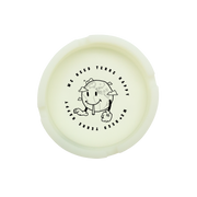 Terre Happy Ashtray Glow White