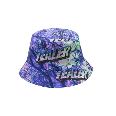 Digital Garden Bucket Hat Reversible