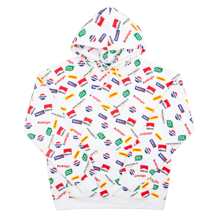 Hoodie Allover Logo