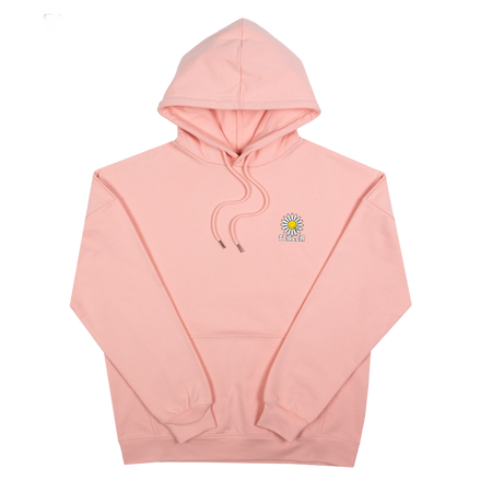 Hoodie Daisy Stoned Pink - Tealer