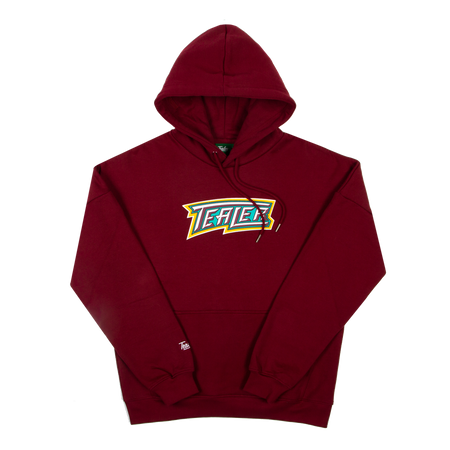 Hoodie Mighty Ducks Burgundy