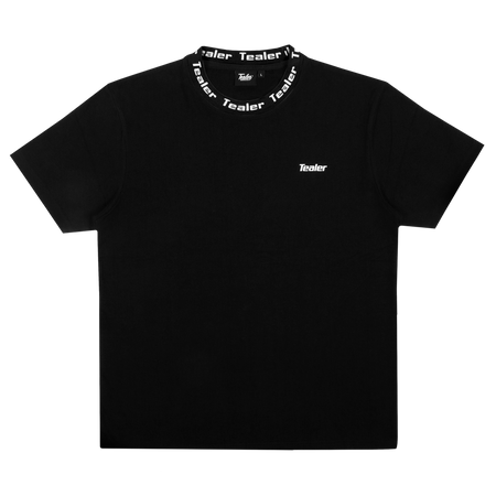 Tee Collar Black - Tealer