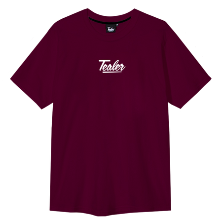 Tee Basic Burgundy - Tealer