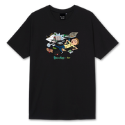 Tee Rick & Morty Party Black