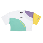 Colorwave Crop Tee