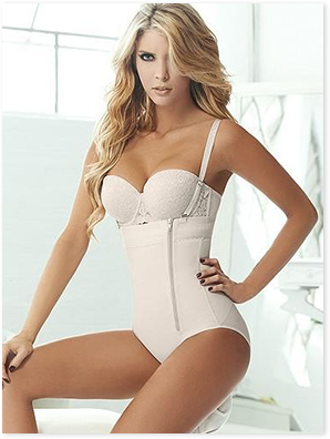 Paris, Sexy Shapewear Waist Trainer W/ Zipper
