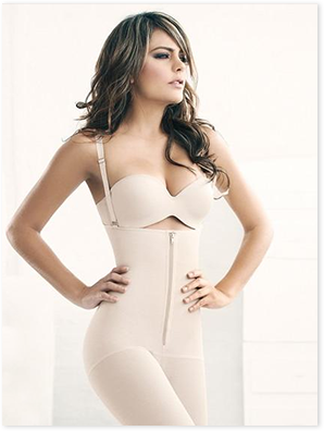 Jilly, Long Pants Body Shaper Corset W/ Zipper