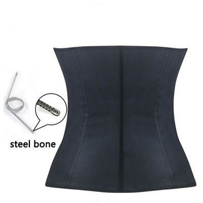 Pamela , The Latex Underbust Waist Cincher (black)