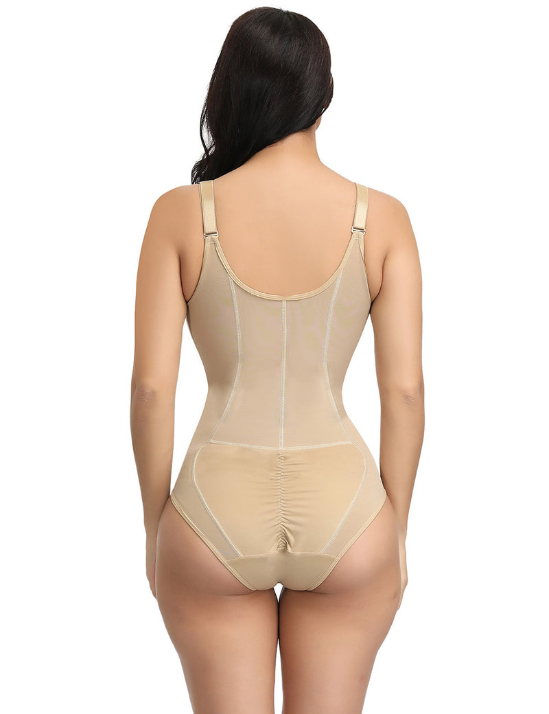 Kim's Sculpting Body Suit With Zip In Front