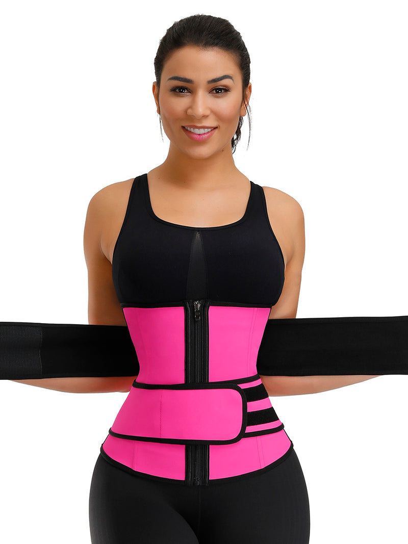 Highest Compression Double Belts Waist Cincher