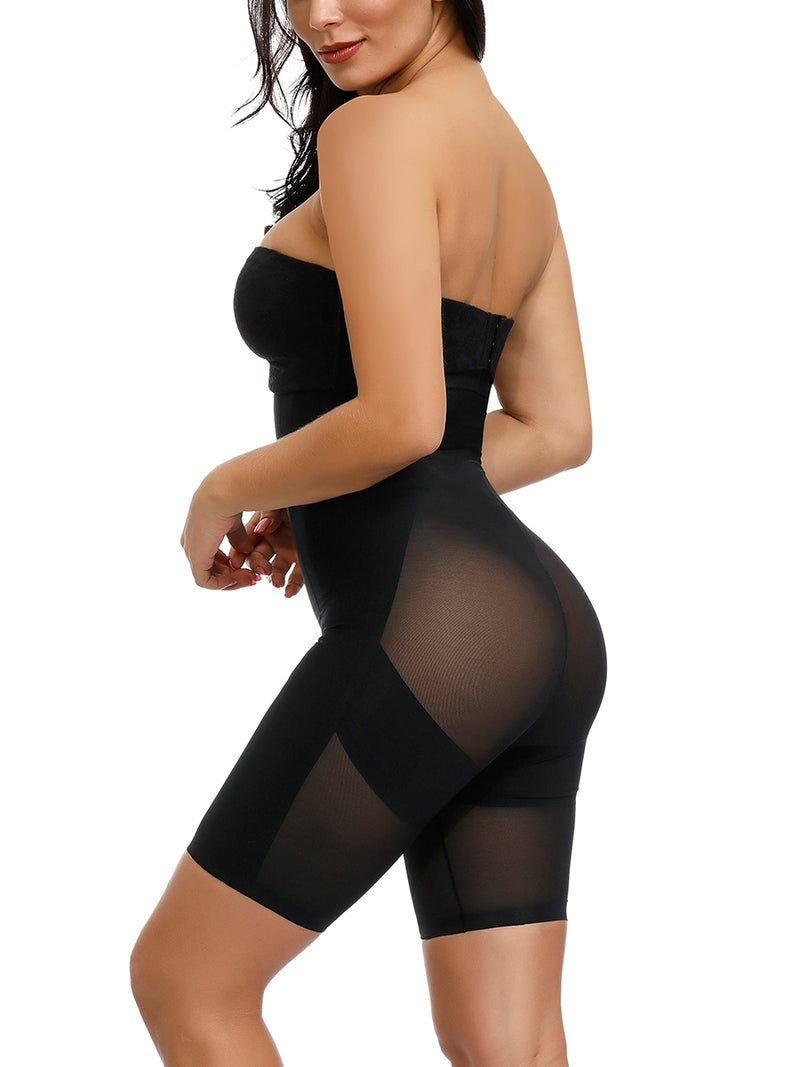 Kim's Sheer Sculpt Body Shaper (Thigh Control)