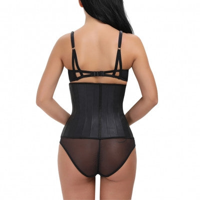 Sasha, Latex Waist Trainer W/ Cotton Lining