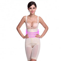 womens body shaper amber front
