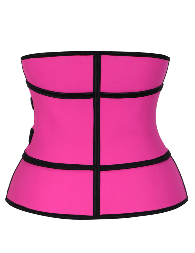 Fitted Curve Latex Waist Trainer