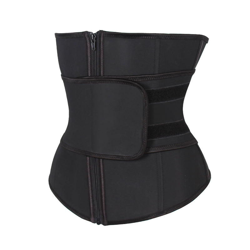 Women's Waist Trainer with  Adjustable Velcro Corset Trimmer Belt