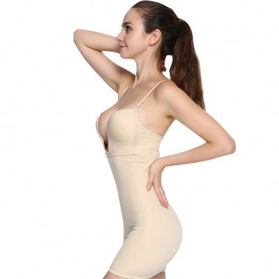 Post Pregnancy Hourglass Firm Control Body Shaper W/ Garment Straps