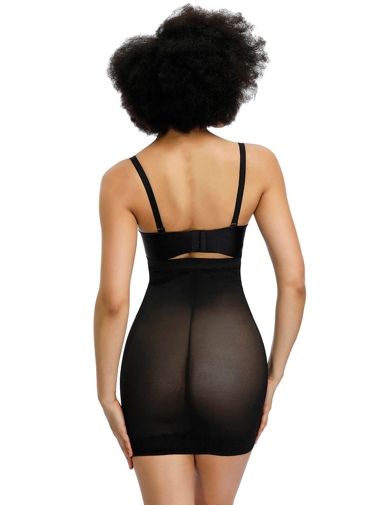 Kim's Sheer Sculpt Body Shaper