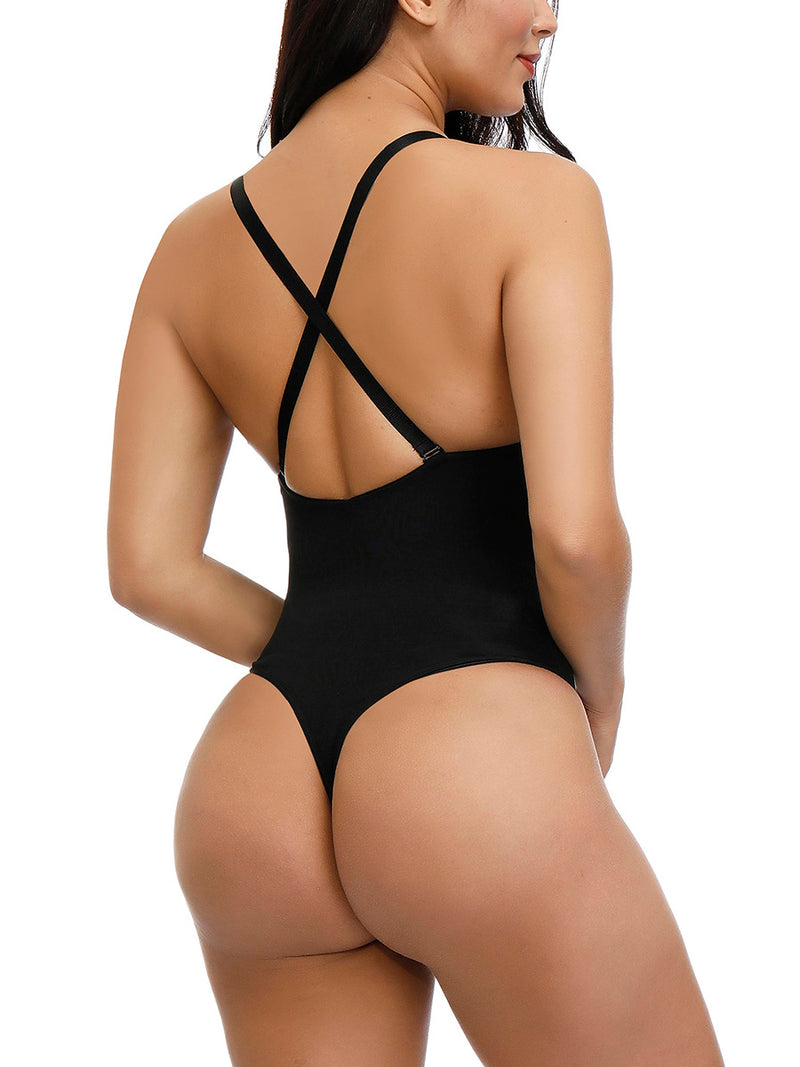 Kim's Sculpt Body Suit With Thong