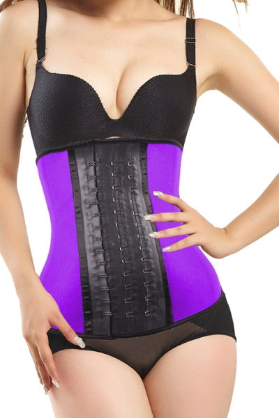 Halle, Light Pressure Waist Cincher (Purple)