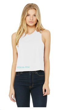 You Be You Cropped Tank
