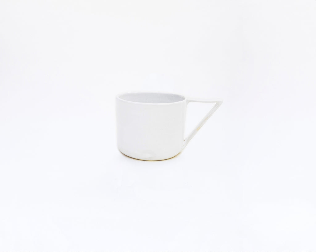 Right-angle round mug: Snow