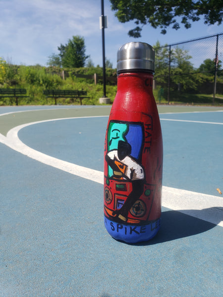 Do The Right Thing#30 - 12 oz Inked Stainless Steel Water Bottle - Limited Edition