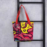 Red Cat -Tote bag